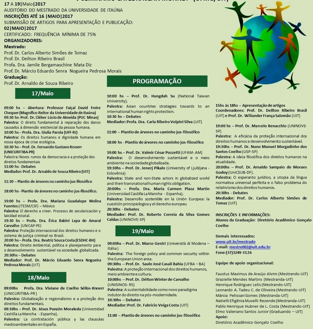 V Seminario Internacional Programacao Site