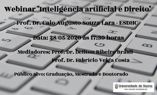 Webinar Inteligencia Artificial e Direito